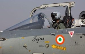 """LCA """"Tejas"""" Inducted into Indian Air Force"""